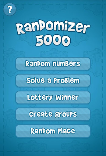 Randomizer 5000