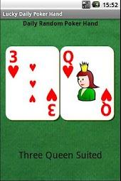 Lucky Poker Hand
