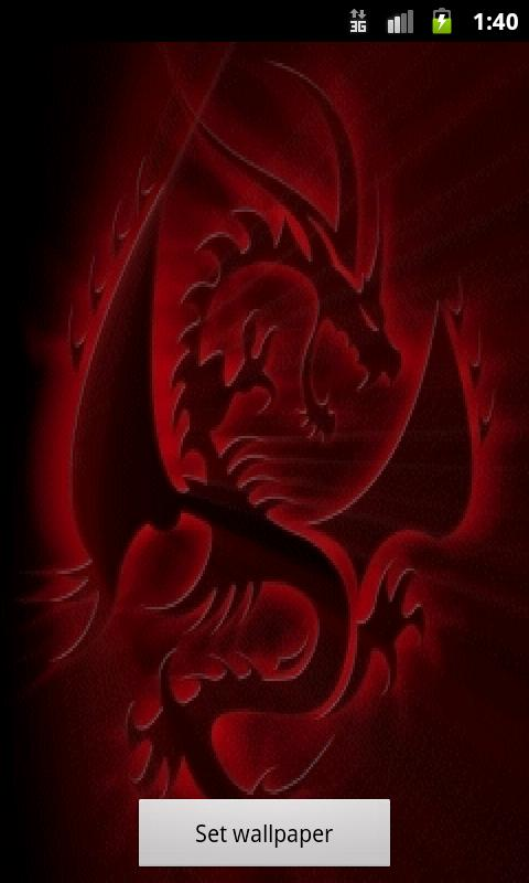 Space Live Wallpaper Mobile9 Related Pictures neon dragon x mobile