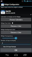 Screenshot of Agenda
