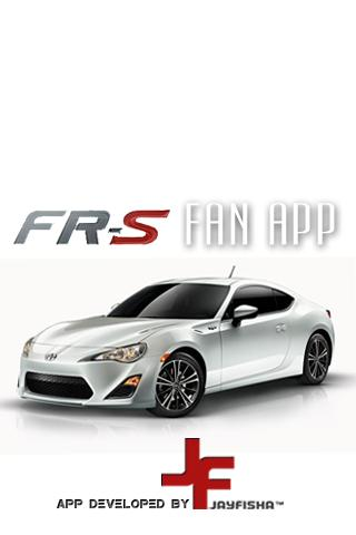 Scion FR-S Fan App - screenshot