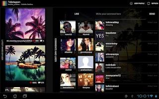 Screenshot of Tabstagram