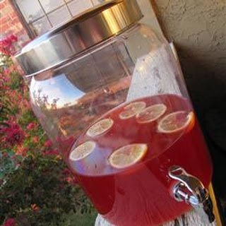 Holiday Red Punch.