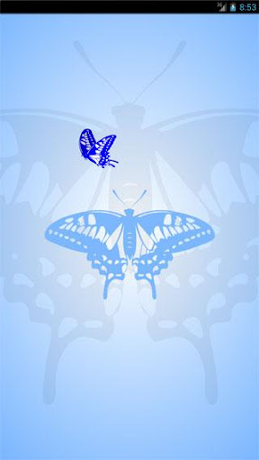 Light-blue butterfly