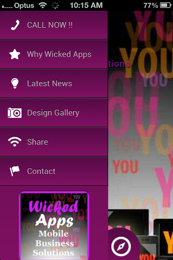 Wicked Apps - screenshot