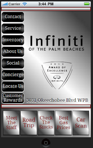 Infiniti Of the Palm Beaches