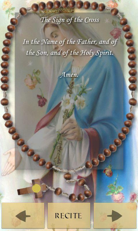 Pocket Rosary- screenshot