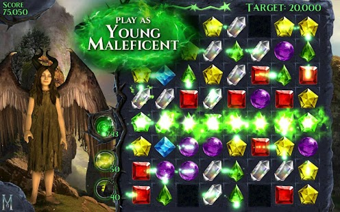 Maleficent Free Fall Screenshot