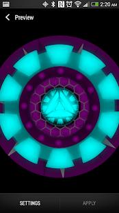 Fusion Reactor Live Wallpaper