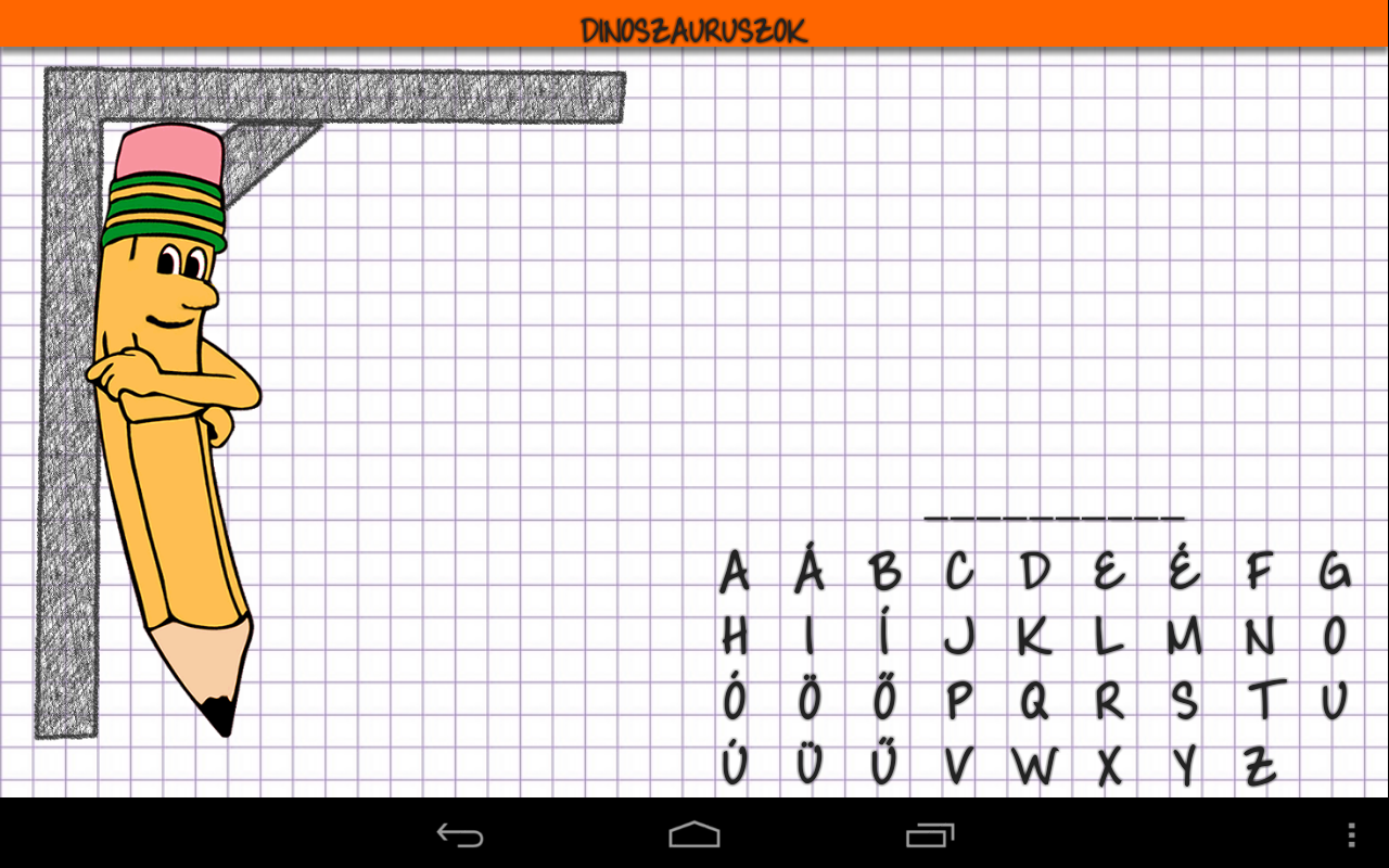 Hangman HD free - screenshot
