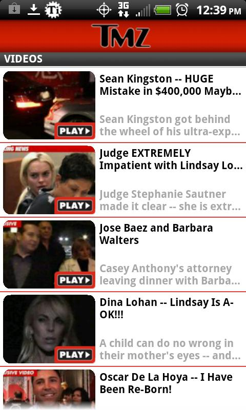 TMZ - screenshot