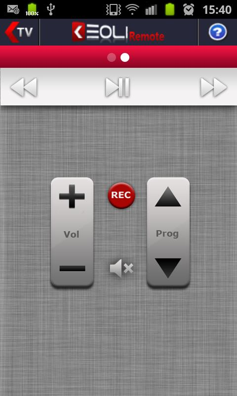 Keoli Remote FreeBox - screenshot