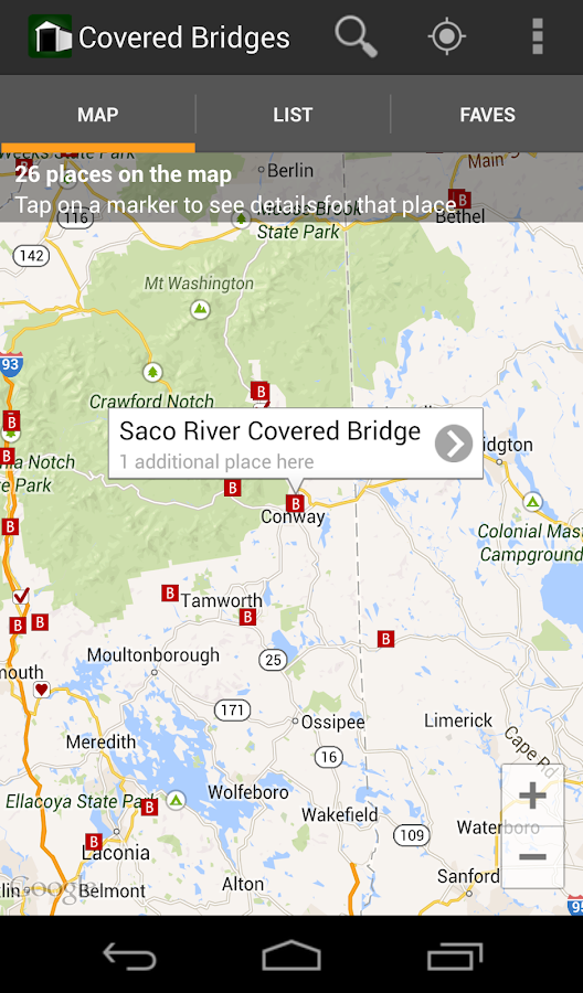 Covered Bridges - screenshot