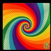 Rainbow Hypnotize Wallpaper