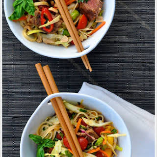 Thai Steak & Noodle Salad.