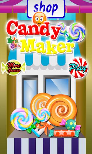 糖果制造商烹饪游戏