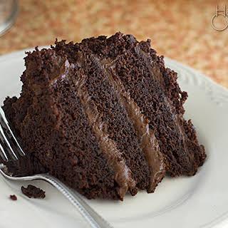 Chocolate Blackout Cake.
