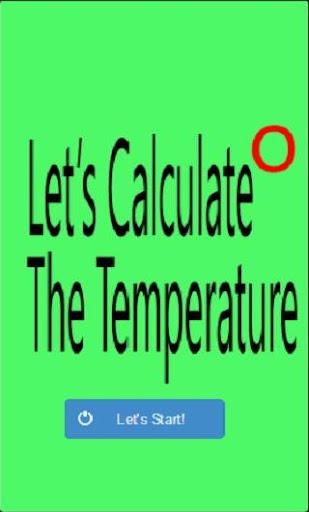 Temperature Calculate