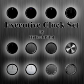 Executive Clock Set Widget