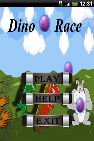 Dino Egg Race