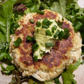 Crabcakes with Herb Aioli.