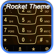 RocketDial Razr Gold Theme 2.0 Icon