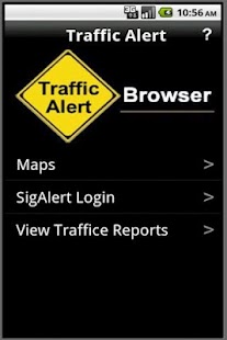 Traffic Alert - screenshot thumbnail