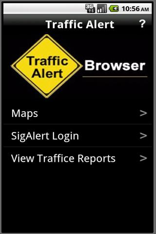 Traffic Alert- screenshot