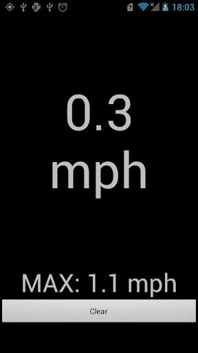 GPS 속도계 MPH
