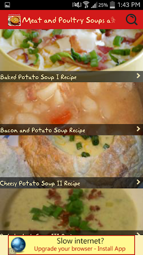 Meat Poultry Soups and Chili