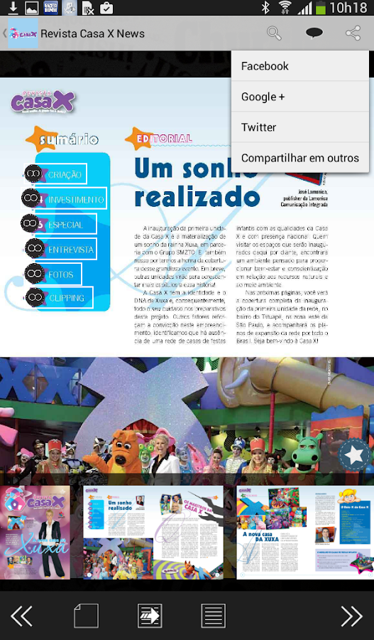Revista Casa X- screenshot