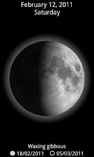 Moon 3D Glow
