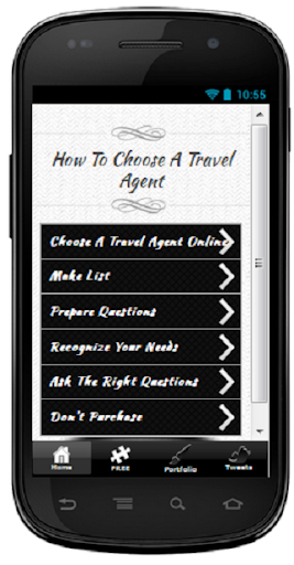 Choose A Travel Agent