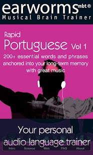 Earworms Rapid Portuguese Vol1- screenshot thumbnail