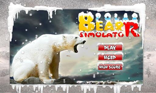 Wild Polar Bear Attack Sim 3D