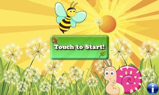 幼兒和孩子們和小女孩的昆蟲拼圖