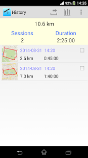 GPS Logger - náhled