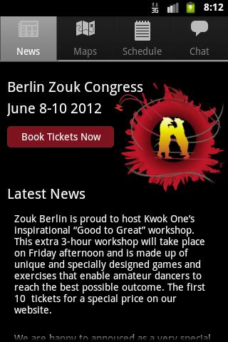 Zouk Berlin- screenshot