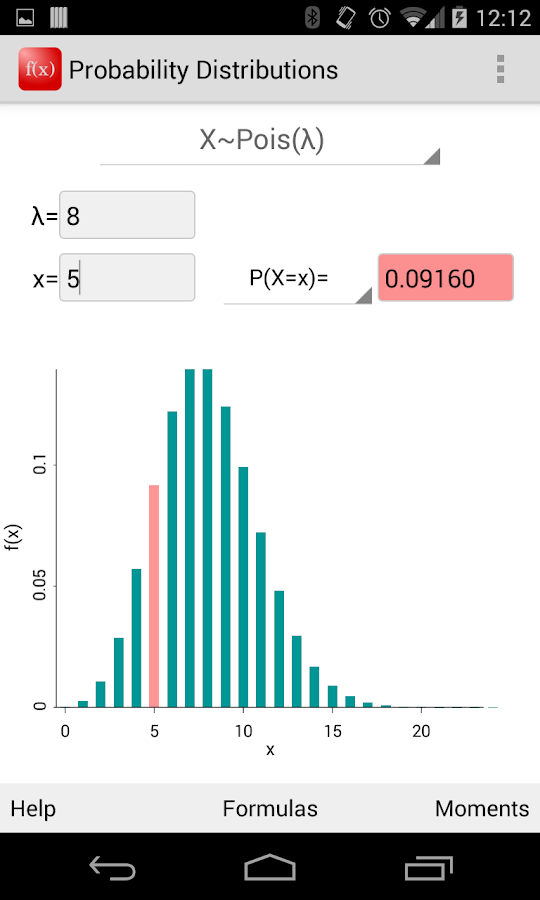 Probability Distributions- screenshot