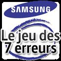 Jeu 7 erreurs pour Galaxy 10.1 icon