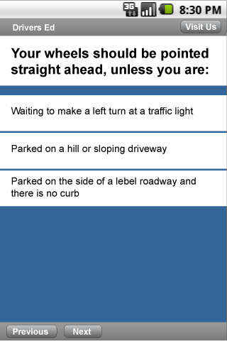 Drivers Ed Ohio- screenshot