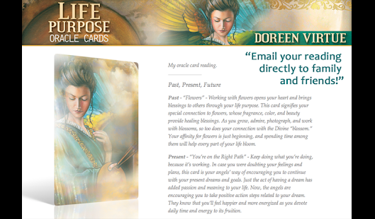 Life Purpose Oracle Cards - screenshot thumbnail