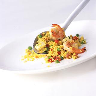 """""""Paella"""" Couscous Salad"""