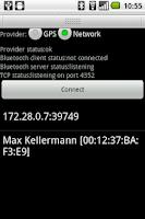 Screenshot of BlueNMEA