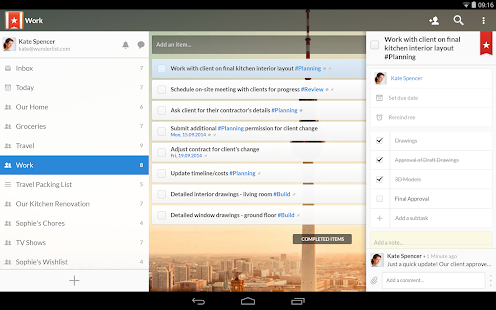 Wunderlist: To-Do List & Tasks Screenshot 22