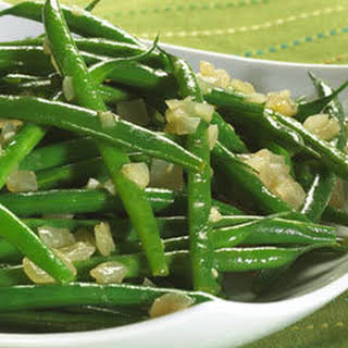 Savory Braised Green Beans.