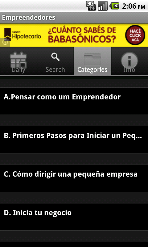 Frases  para Empreendedores - screenshot