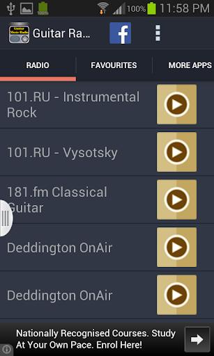 Guitar Music Radio