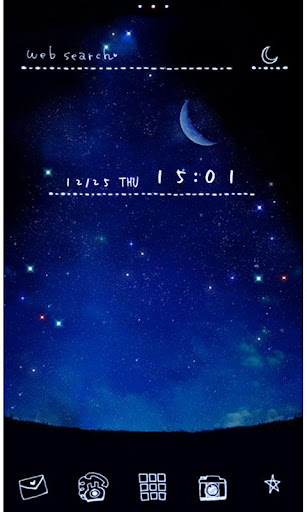 Romantic Wallpaper Starlit Sky 1.0.1 Windows u7528 1