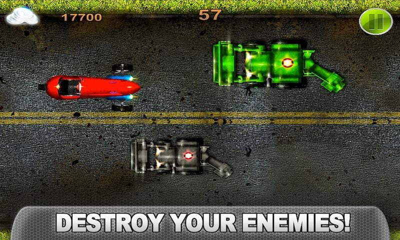 CRAZY CAR CLASH Turbo Racing - screenshot